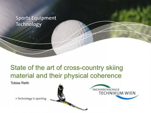 QR code, cross-country skiing, Atomic, Salomon, Bachelorarbeit, Sports Equipment Technology, Fh Technikum Wien
