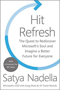 "#KEYIDEAS from ""Hit Refresh: The Quest to Rediscover Microsoft's Soul"