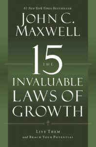 "#KEYIDEAS from  ""The 15 Invaluable Laws of Growth: Live"