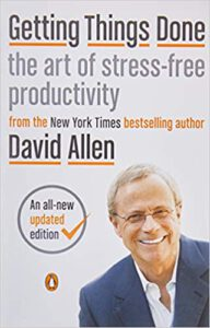 "#KEYIDEAS from ""Getting Things Done: The Art of Stress-Free Productivity"""